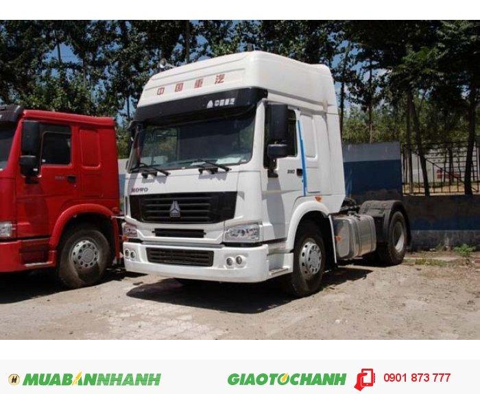 Cần bán xe đầu kéo Howo, Đầu kéo Hổ Vồ Cabin A7 T5G nhập khẩu.