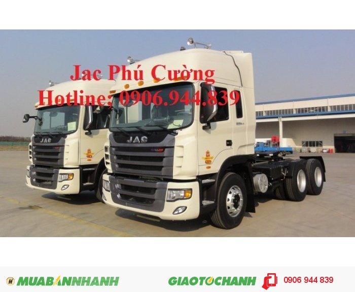 Công ty bán xe tải Jac 4 chân 380 Hp 38T/ 38 tấn/38,5 tấn công nghệ Hyundai đời 2015 1