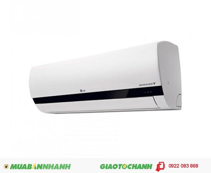 LG V10ENBSố ngựa 1 HP (ngựa)Công suất tiêu thụ 830 WPhạm vi làm lạnh hiệu quả Từ dưới 15 m2 ( từ 30 đến 45 m3)Công nghệ Inverter Máy lạnh InverterLoại Gas sử dụng R-410AKích thước cục lạnh (Dài x Cao x Dày) 72 x 50 x 27 cmKích thước cục nóng (Dài x Cao x Dày) 89 x 28.5 x 20.5 cmKhối lượng cục lạnh 9 kgKhối lượng cục nóng 24 kgNơi sản xuất Thái LanNăm sản xuất 2013Thời gian bảo hành cục lạnh 2 nămThời gian bảo hành cục nóng 2 năm, 1