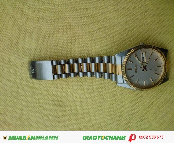 Đồng Hồ Seiko Quartz Kiểu Rolex Cổ .0
