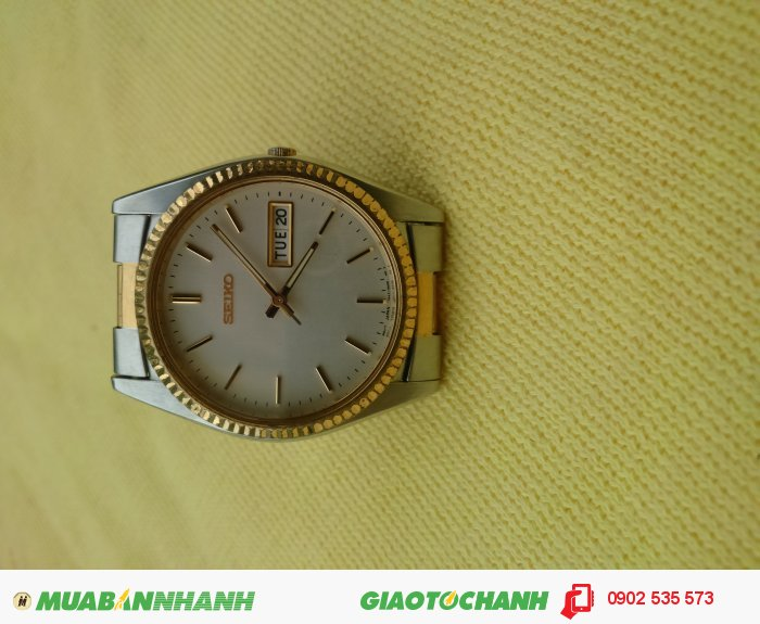 Đồng Hồ Seiko Quartz Kiểu Rolex Cổ .1