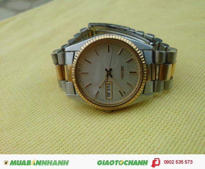 Đồng Hồ Seiko Quartz Kiểu Rolex Cổ .2
