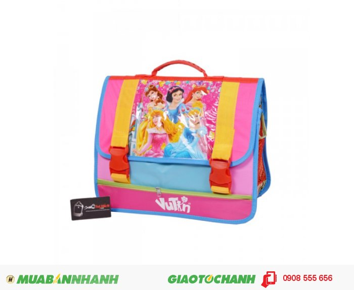Cặp Vũ Tín công chúa  Bạch Tuyết CKCHS0115002| Giá: 90,000 đồng| Loại: Túi xách| Chất liệu: Vải dù cao cấp| Màu sắc: hồng| Kiểu quai: Quai xách| Họa tiết: hoạt hình công chúa| Trọng lượng: 600g|Kích thước: 38x30 cm| Mô tả: Được thiết kế dành riêng cho các bé gái, tuổi từ 7 – 13.0