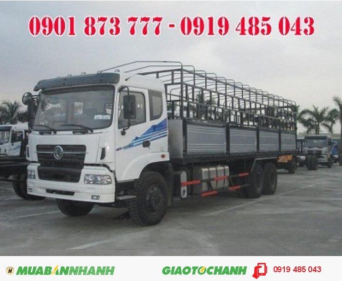 Xe tải Dongfeng Trường Giang 3 chân 14.5 tấn, xe tải Dongfeng 3 giò 14T5 rẻ nhất Sài Gòn