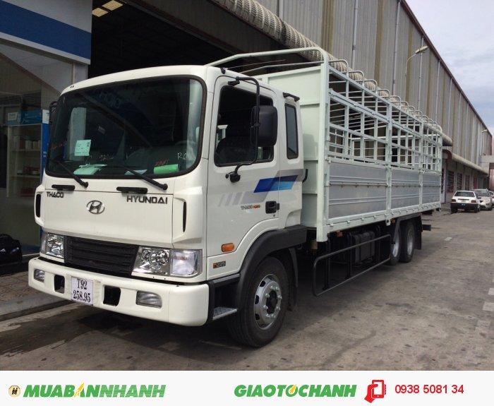 Xe tải 3 chân Hyundai 14 tấn HD210 0