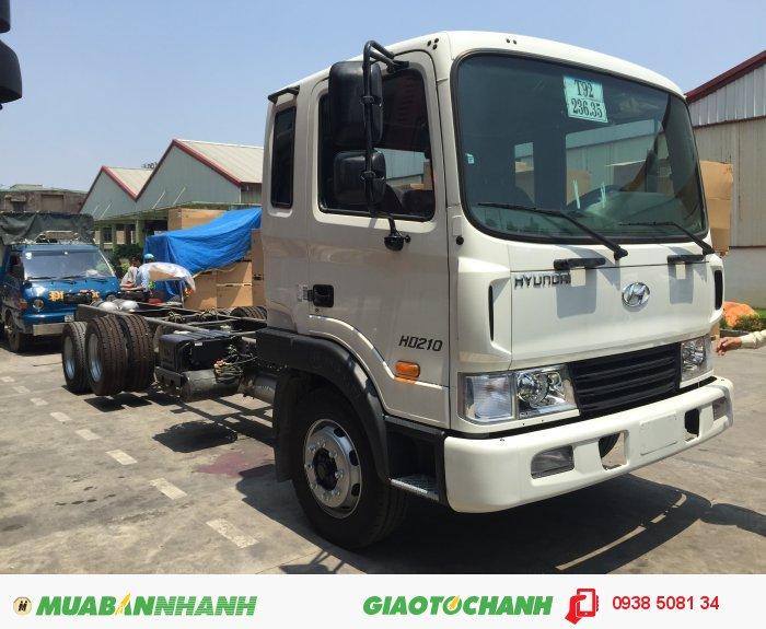 Xe tải 3 chân Hyundai 14 tấn HD210 1