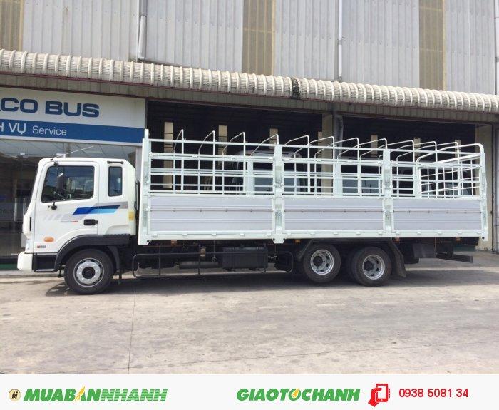Xe tải 3 chân Hyundai 14 tấn HD210 2