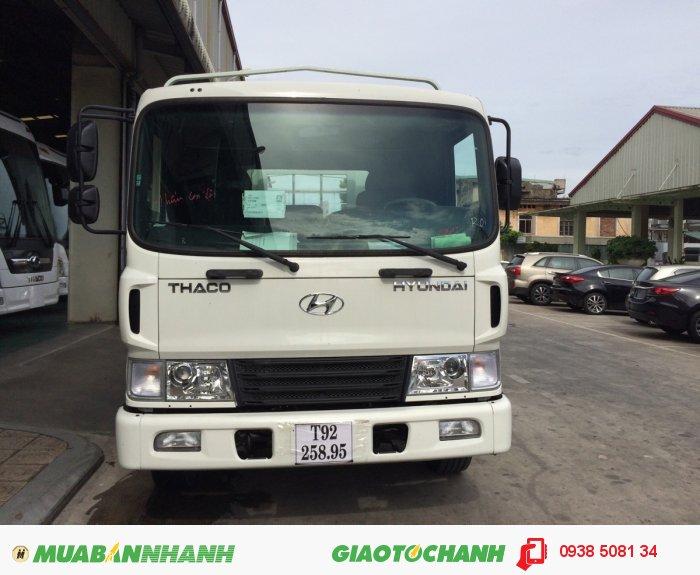 Xe tải 3 chân Hyundai 14 tấn HD210 4