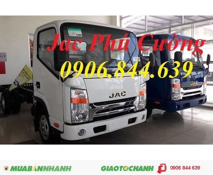 Mua xe tải Jac 2.4 tấn/ 2 tấn 4 giá rẻ, giá bán xe tải Jac 2 tấn 4/ 2.4 tấn trả góp