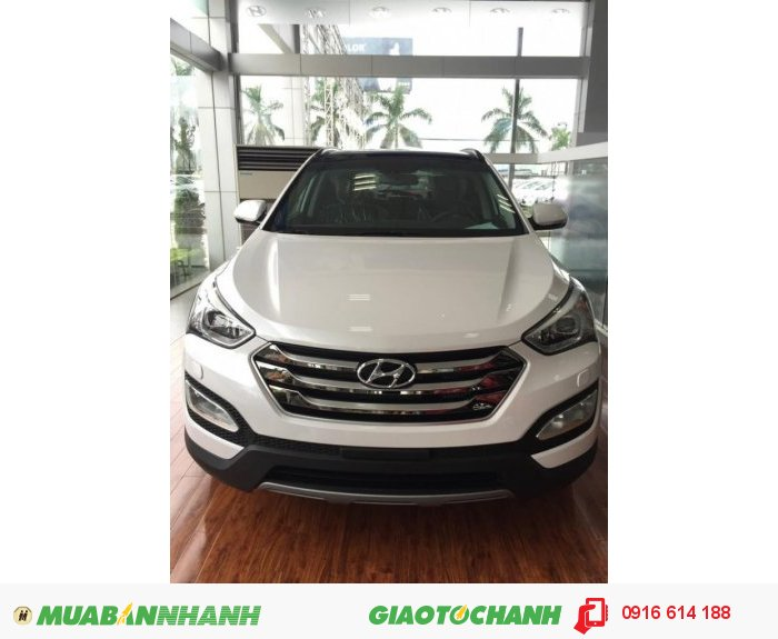 Bán xe Hyundai Santafe 2.4 AT 2015