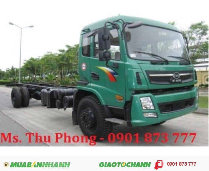 Đại lý xe tải Cửu Long 9,5 tấn thùng dài 7m5 3