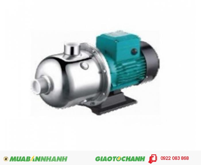 Máy bơm nước đẩy cao trục ngang đầu inox LEPONO EDH 10-10, 1