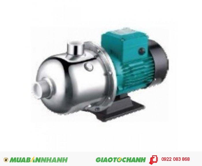 Máy bơm nước đẩy cao trục ngang đầu inox LEPONO EDH 4-50, 1