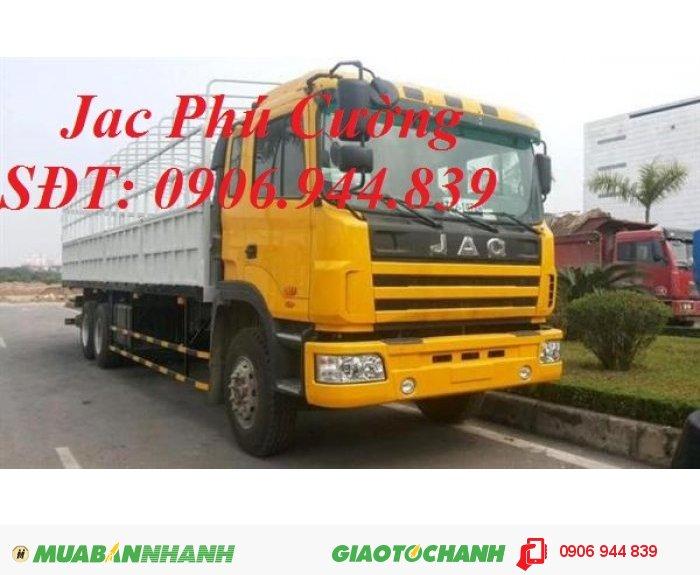 Nơi bán xe tải Jac 260Hp 13T/13 tấn/12.5T/12,5T/giá bán xe tải Jac 13T máy Weichai mới nhất 2015 1