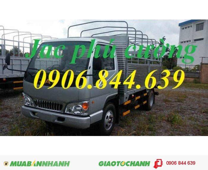 Xe tải Jac 2.4T = bán xe tải jac 2.4T ( 2 tấn 4) – jac HFC1047K 2.4 tấn hạ tải vào thành phố.