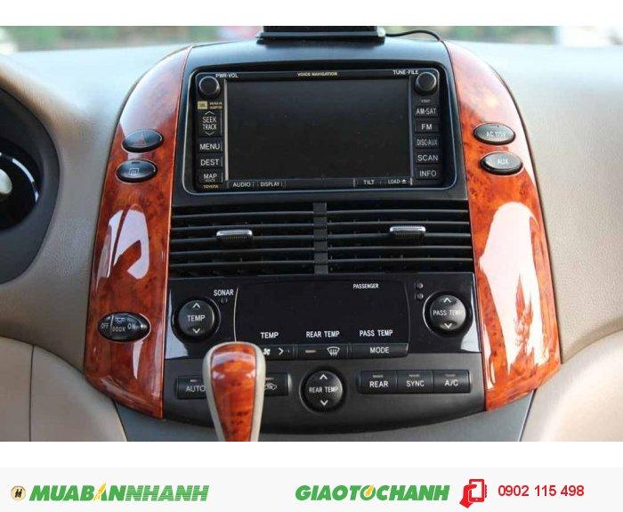 Toyota Sienna Limited 2008 Full Option màu vàng cát 3