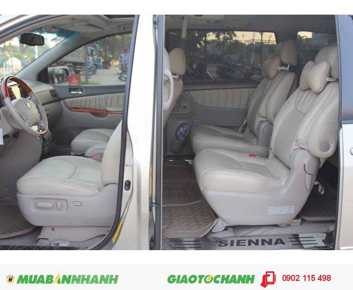 Toyota Sienna Limited 2008 Full Option màu vàng cát 4