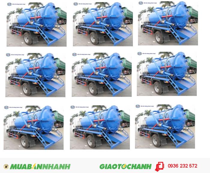 Xe Hút Chất Thải Dongfeng 3M3