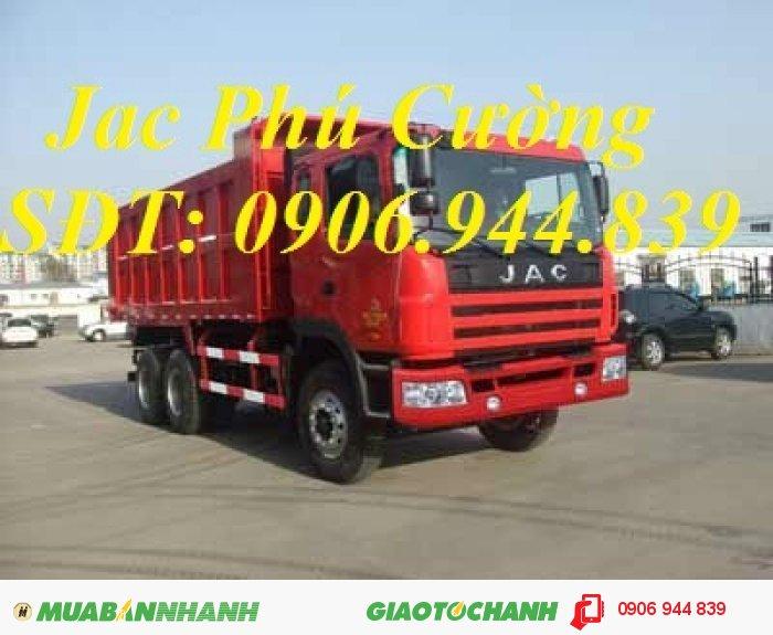 Xe tải ben tự đổ Jac 336 Hp/giá bán xe tải ben tự đổ Jac 336 Hp 10T/10 tấn/10.5T (3 chân)-trả góp