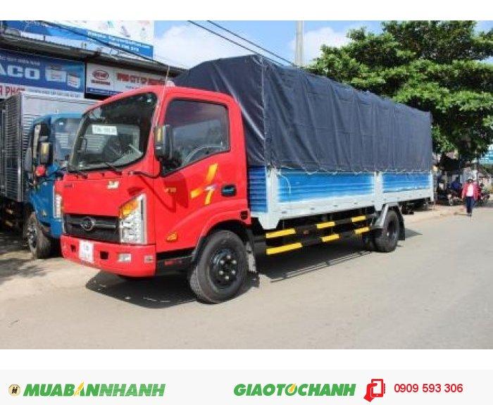 Xe tải veam vt260, xe tải veam 2 tấn thùng dài 6m2 vào thành phố được