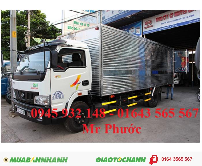 Xe tải Veam 4.9 tấn, Veam VT490 4.9 tấn thùng mui bạt 1