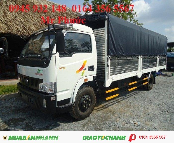 Xe tải Veam 4.9 tấn, Veam VT490 4.9 tấn thùng mui bạt 2