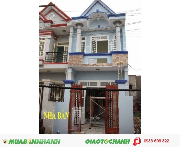 _Nhà bán 2 Mặt Tiền  4x13một trệt 1 lầu ngay ngã 5 Vĩnh Lộc