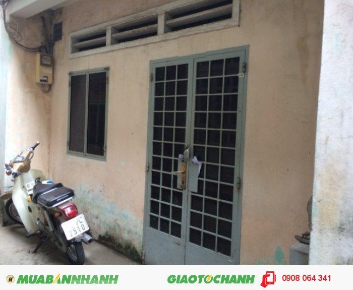 Bán nhà hẻm Nguyễn Thanh Tuyền, P.2, Tân Bình
