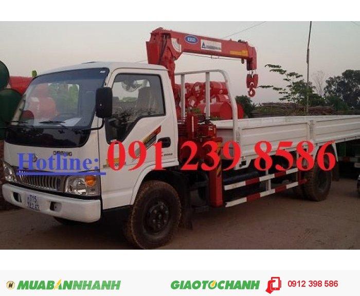 Xe tải Dongfeng L315 lắp cẩu Kanglim 10 tấn KS2605 1
