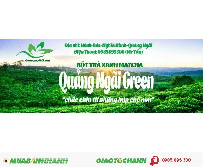 Bột Trà xanh QuangNgaiGreen0