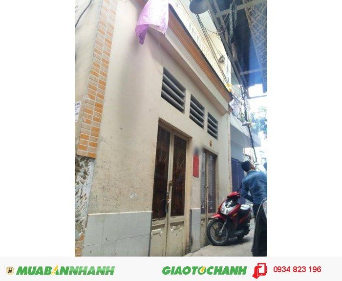 Bán nhà 1 lầu hẽm nôi bộ 2.5m đường Trần Xuân Soạn, Quận 7 (Đang cho thuê 6tr)