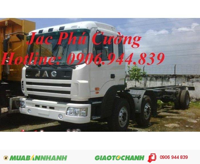 Bán xe tải Jac 2 Dí =10 tấn/10T/10t máy 220 Hp(3 chân) bán trả góp giá rẻ 0