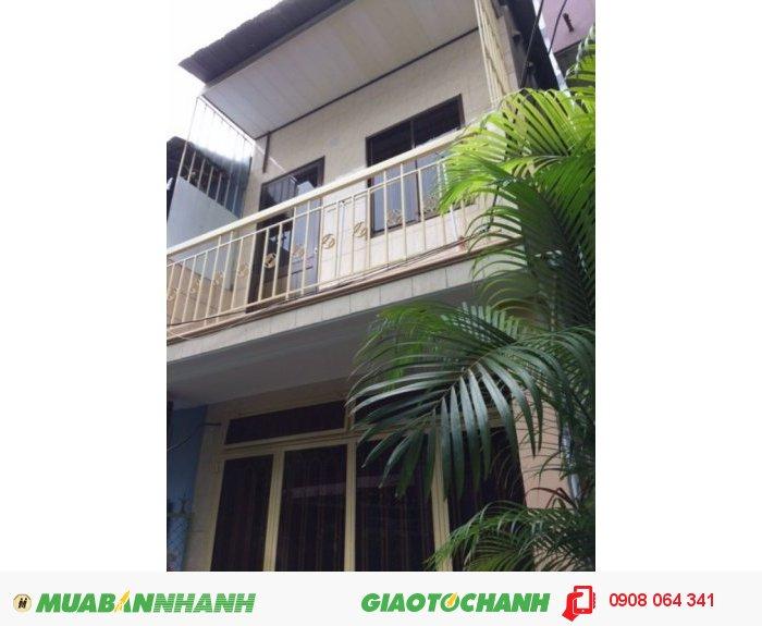 Bán nhà hẻm Huỳnh Tịnh Của, P.8, quận 3