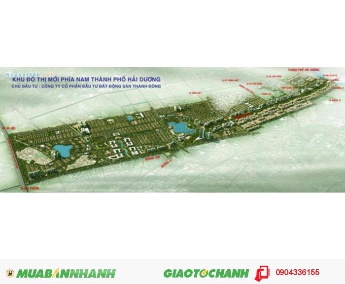 Bán đất nền Khu đô thị mới Nam Hải Dương