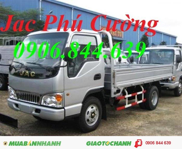 Đại lý bán xe tải 2.4T (2.4 tấn) Jac công nghệ ISUZU giá cả phải chăng