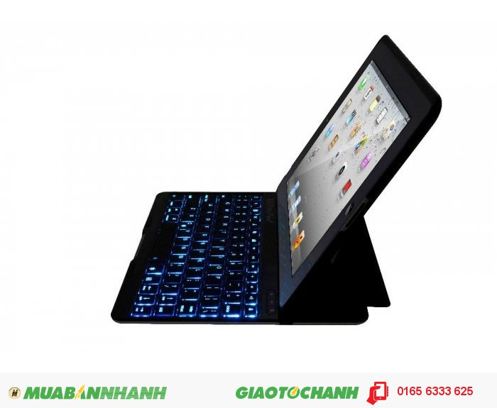 Bàn phím bluetooth phát sáng F4S dành cho Ipad 2/3/4 - GEX nhập khẩu