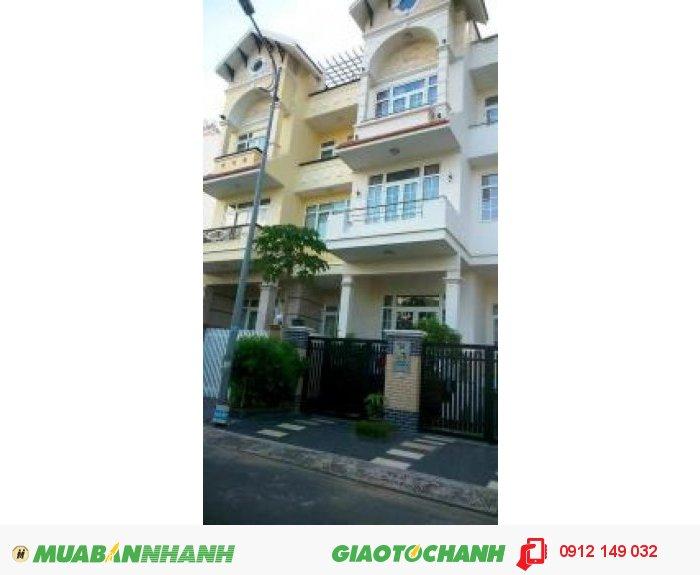 Cho thuê nhà biệt thự KDC Him Lam Quận 7, DT 200m2, nhà đẹp