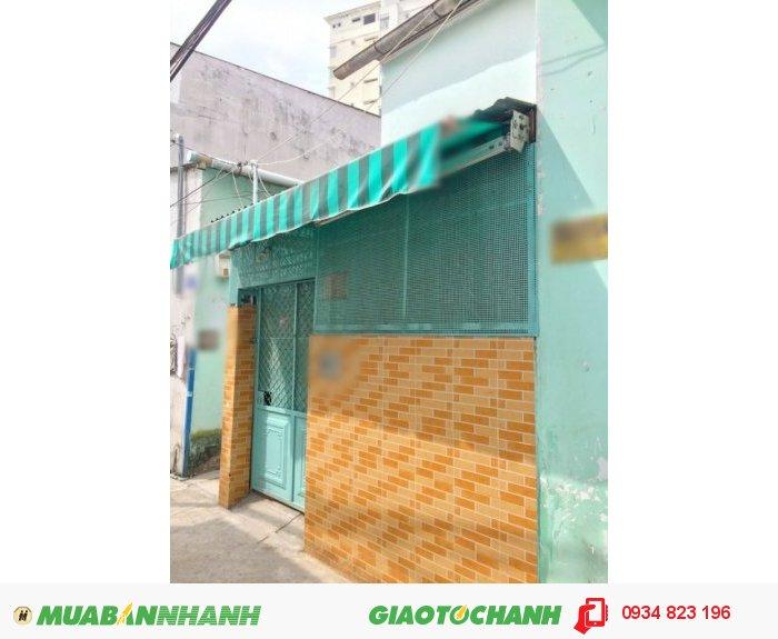 Bán gấp nhà cấp 4, Mặt Tiền hẽm Huỳnh Tấn Phát, F. TTĐ, Quận 7 (Hẽm 585)