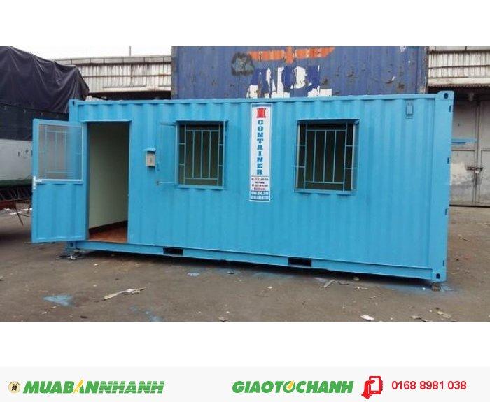 Container 20 VP có nhà vệ sinh 47 triệu2