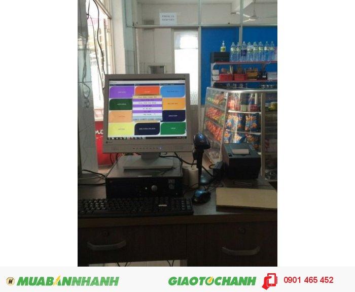 Máy tính tiền hiện đại cho các quán bán cafe3