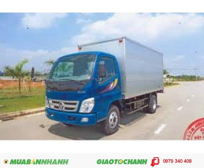 Xe tải thaco ollin198A, 1,98 tấn, giá rẽ, chất lượng tốt động cơ mạnh, giá tốt nhất tây ninh 1