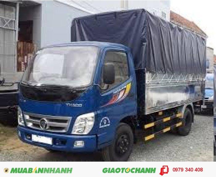 Xe tải thaco ollin198A, 1,98 tấn, giá rẽ, chất lượng tốt động cơ mạnh, giá tốt nhất tây ninh 3