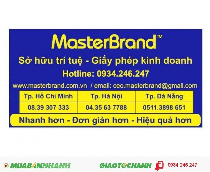 Dịch vụ tư vấn Đăng ký Sở hữu trí tuệ - Đại diện Sở hữu công nghiệp MasterBrand, 1