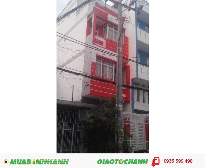Bán nhà 1 trệt 3 mặt tiền đường  ,đường Lê Lư ,4mx18m, 4.35  tỷ ,Phường Phú Thọ Hòa , Quận Tân Phú.