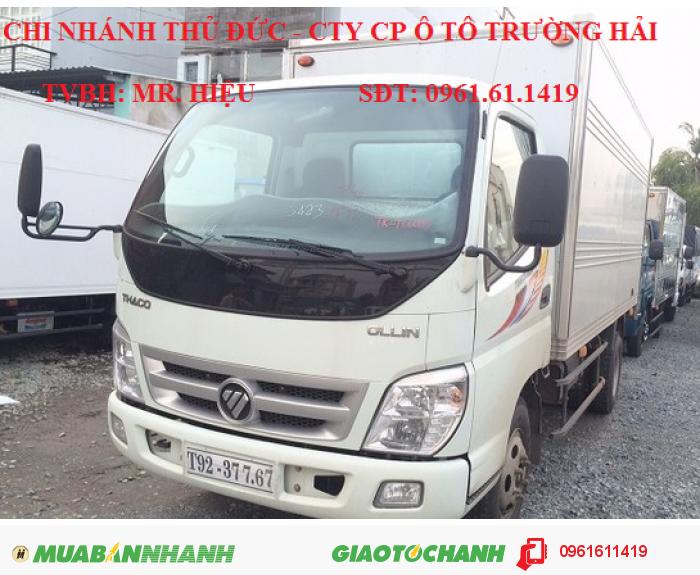 Xe tải 5 tấn, Ollin 500B, THACO Trường Hải mới