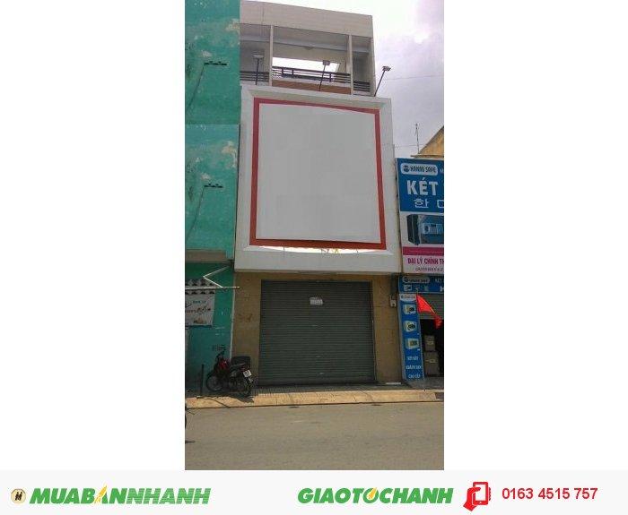 Cho thuê MB Nơ Trang Long, P.12, BT DT 4x20m