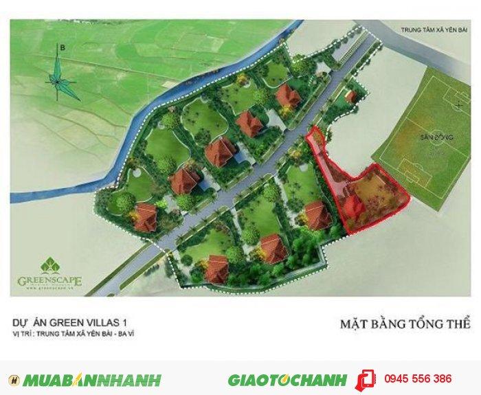 Tôi muốn bán một lô đất trong dự án Green Villas IV tại huyện Ba Vì, thành phố Hà Nội.