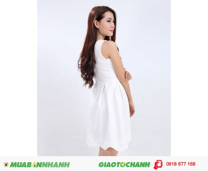 Đầm xòe nữ lai gợn sóng DN ZID22506