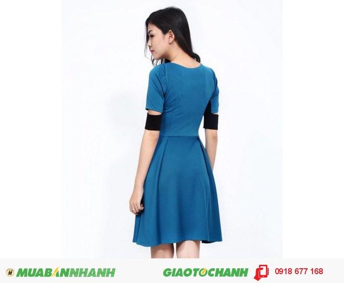 Đầm xòe nữ tay cut Thun Đông Việt ZID20563