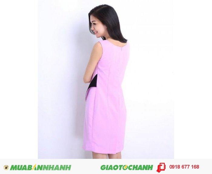 Đầm suông nữ phối hoa vai ZID160681